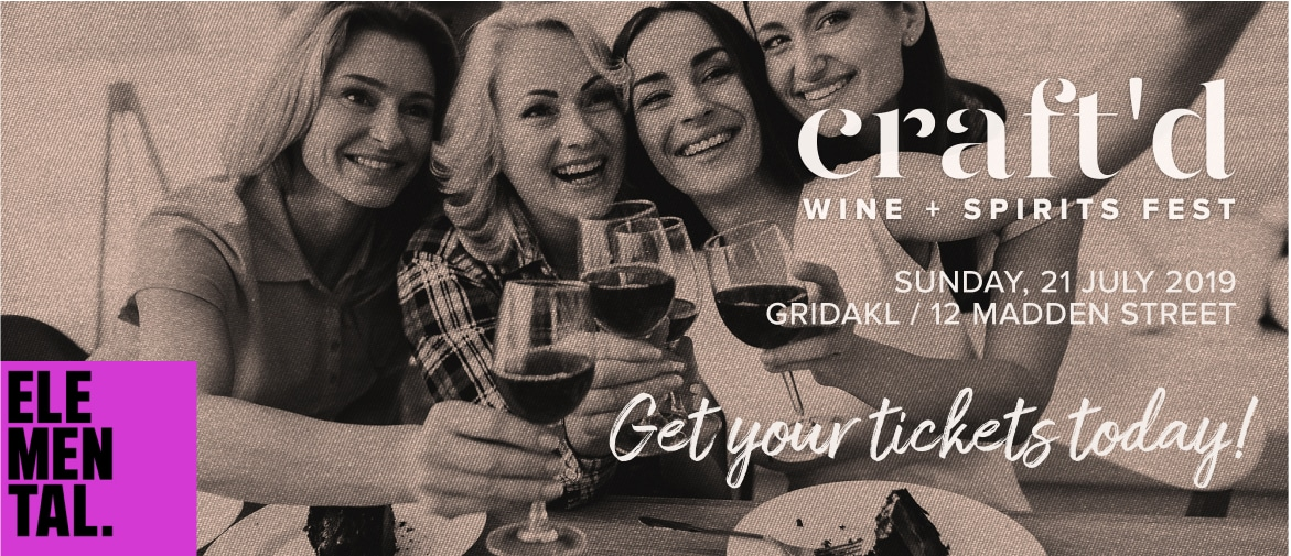 Craftd Wine + Spirits Festival